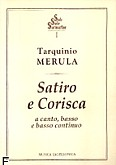 Okładka: Merula Tarquinio, Satiro e Corisca a canto, basso e b.c.