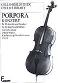 Okładka: Porpora Nicola Antonio, Koncert na wiolonczelę i orkiestrę smyczkową