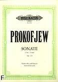 Okładka: Prokofiew Sergiusz, Sonata C-dur op. 119