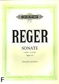 Okładka: Reger Max, Sonata a-moll op. 116