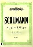 Okładka: Schumann Robert, Adagio i allegro op. 70