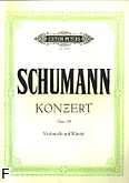 Okładka: Schumann Robert, Koncert a-moll op. 129 na wiolonczelę i orkiestrę