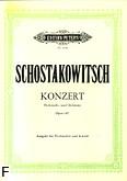 Ok�adka: Szostakowicz Dymitr, Koncert Es-dur op. 107 na wiolonczel� i orkiestr� (wyc.fort.)