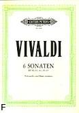 Okładka: Vivaldi Antonio, 6 sonat
