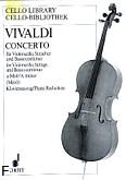 Ok�adka: Vivaldi Antonio, Koncert a-moll RV 398 na wiolonczel�, orkiestr� smyczkow� i b.c.