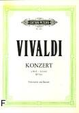 Ok�adka: Vivaldi Antonio, Koncert a-moll RV 422 na wiolonczel�, orkiestr� smyczkow� i b.c. (wyc.fort.)