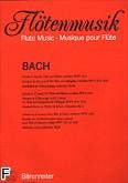 Ok�adka: Bach Johann Sebastian, Sonata C-dur; Sonata Es-dur; Sonata g-moll na flet i b.c., BWV 1033; na flet i klawesyn, BWV 1031,