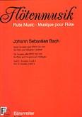 Ok�adka: Bach Johann Sebastian, Sze�� sonat na flet i b.c., BWV 525-530, z. 2