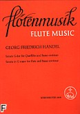 Okładka: Händel George Friedrich, Sonata G-dur na flet i b.c.