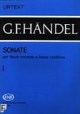 Okładka: Händel George Friedrich, Sonaty na flet i b.c.; z. 1