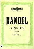 Ok�adka: H�ndel George Friedrich, Sonaty z. 1: e-moll, g-moll, G-dur