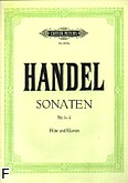 Okładka: Händel George Friedrich, Sonaty z. 1: e-moll, g-moll, G-dur