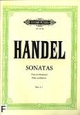 Ok�adka: H�ndel George Friedrich, Sonaty z. 2: C-dur, F-dur, h-moll, a-moll