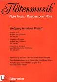 Okładka: Mozart Wolfgang Amadeusz, Koncert D-dur KV 314 na flet i orkiestrę