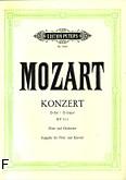 Okładka: Mozart Wolfgang Amadeusz, Koncert D-dur KV 314 na flet i orkiestrę (wyc.fort.)
