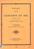 Okładka: Mozart Wolfgang Amadeusz, Concerto en sol flute et piano (cadences taffanel/gaubert/bozza)