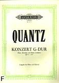 Okładka: Quantz Johann Joachim, Koncert G-dur QV 5: 174 na flet, orkiestrę smyczkową i b.c.