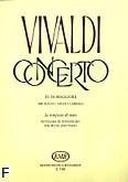 Ok�adka: Vivaldi Antonio, Koncerty op. 10 na flet, orkiestr� smyczkow� i b.c.; nr 1 F-dur