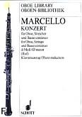 Okładka: Marcello Benedetto, Koncert d-moll na obój, orkiestrę smyczkową i b.c.