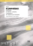 Ok�adka: Kurpi�ski Karol, Koncert na klarnet i orkiestr�