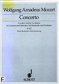 Okładka: Mozart Wolfgang Amadeusz, Koncert A-dur KV 622 na klarnet i orkiestrę