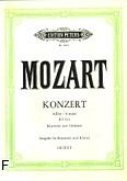 Ok�adka: Mozart Wolfgang Amadeusz, Koncert A-dur KV 622 na klarnet i orkiestr� (wyc.fort.)