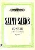 Ok�adka: Saint-Sa�ns Camille, Sonata op. 167