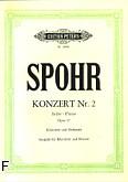 Okładka: Spohr Louis, Koncert Es-dur op. 57 nr 2 na klarnet i orkiestrę (wyc.fort.)