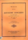 Ok�adka: Weber Carl Maria von, Koncert Es-dur op. 74 na klarnet i orkiestr�