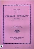 Ok�adka: Weber Carl Maria von, Koncert f-moll op. 73 na klarnet i orkiestr�