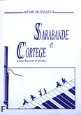 Okładka: Dutilleux Henri, Sarabande et Cortége
