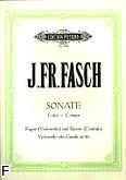 Okładka: Fasch Johann Friedrich, Sonata C-dur na fagot i b.c.