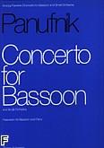 Okładka: Panufnik Andrzej, Koncert na fagot i orkiestrę