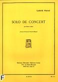 Okładka: Pierné Gabriel, Solo de concert op. 35