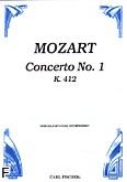 Okładka: Mozart Wolfgang Amadeusz, Koncert D-dur KV 412 na róg i orkiestrę