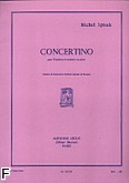 Okładka: Spisak Michał, Concertino na puzon i fortepian