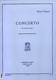 Ok�adka: Tomasi Henri, Concerto pour trombone et orchestre (trombone et piano)