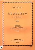 Ok�adka: H�ndel George Friedrich, Koncert f-moll opracowanie na puzon (tub�) i fortepian
