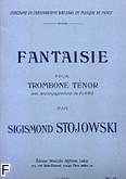 Okładka: Stojowski Zygmunt, Fantaisie trombone tenor et piano