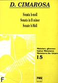 Okładka: Cimarosa Domenico, Sonata h-moll