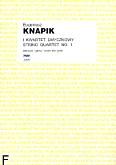 Ok�adka: Knapik Eugeniusz, I Kwartet smyczkowy (partytura+g�osy)