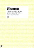 Okładka: Zieliński Maciej, I Kwartet smyczkowy