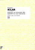 Okładka: Kilar Wojciech, Kwintet na instrumenty dęte (partytura+głosy)