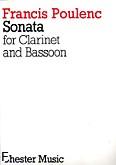 Okładka: Poulenc Francis, Sonata na klarnet i fagot