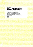 Ok�adka: Twardowski Romuald, Regina coeli o gloriosa Domina na ch�r mieszany a cappella