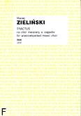 Ok�adka: Zieli�ski Maciej, Tractus na ch�r mieszany a cappella
