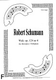 Okładka: Schumann Robert, Walc op. 124 nr 4 na skrzypce i fortepian