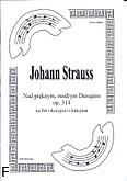Ok�adka: Strauss Johann, Nad pi�knym, modrym Dunajem op. 314