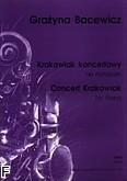 Ok�adka: Bacewicz Gra�yna, Krakowiak koncertowy na fortepian
