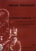 Okładka: Wieniawski Henryk, Le Carnaval Russe op.11